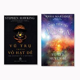 Combo 2 cuốn: Nhà Tiên Tri Vanga - Vũ Trụ Huyền Bí + Vũ trụ trong vỏ hạt dẻ