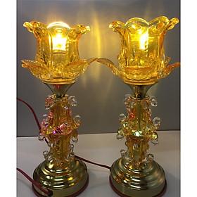 Cặp đèn thờ điện cao cấp AN1374