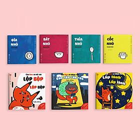 Combo 7 cuốn sách Ehon Chơi cùng cáo Ken  và Đồ vật quanh bé