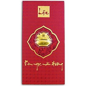 Bao lì xì vàng 24K Kim Ngọc Mãng Đường Ancarat - BLX01