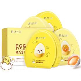 Mặt Nạ Trứng Dưỡng Ẩm Sáng Da Mask Family - 20 Miếng