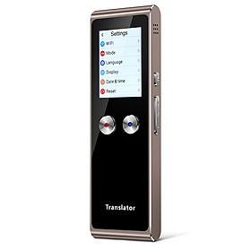 T8S Portable Voice Translator Intelligent Handheld Speech Interpreter WiFi Two-way Real-time Translation 51 Languages