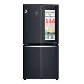 Tủ lạnh LG Inverter InstaView Door-in-Door 601 lít GR-X247MC - Hàng Chính Hãng + Tặng Bình Đun Siêu Tốc