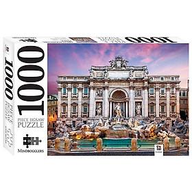1000 Piece Jigsaw Puzzle: Trevi Fountain