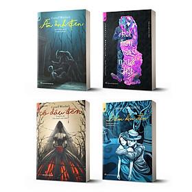 Combo trinh thám đen 4 cuốn Cornell Woolrich: Cô dâu đen + Ám ảnh đen + Điểm hẹn đen + Kết hôn với người chết