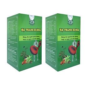 [Combo 2 hộp] Hỗ trợ hiệu quả tiểu đường Type 1 và Type 2, Giảm nguy cơ biến chứng tiểu đường, hạ đường huyết đái tháo đường thai kỳ, Giảm cholesterol trong máu, mỡ máu Hạ Thanh Đường
