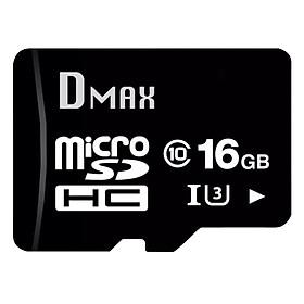 Thẻ Nhớ 16GB Dmax Micro SDHC UHS1/U3 Class 1090Mb/s - Hàng Chính Hãng
