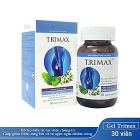 Viên Uống Hỗ Trợ Co Thắt Búi Trĩ T.rimax Hủ 30 Viên Nguyên Liệu Từ Thiên Nhiên