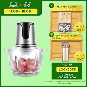 Máy Xay Thịt 2 Lưỡi Dao Kép Lock&Lock EJM171 (2L) - Hàng Chính Hãng