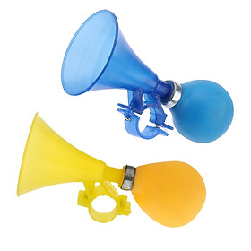 2x Retro Bicycle Bell Air Horn Kids Children Bike Warning Bell Squeeze Horn Toy