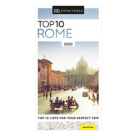 Top 10 Rome - Pocket Travel Guide (Paperback)