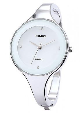 Đồng Hồ Nữ Dây Kim Loại Kimio K2682L (33 mm) - Bạc Mặt Trắng