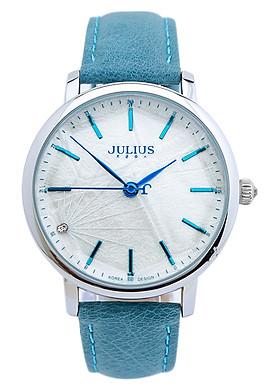 Đồng Hồ Nữ Dây Da Julius JU1146 - Xanh Dương