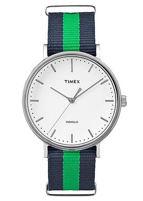 Đồng Hồ Unisex Dây Vải Timex Weekender TW2P90800