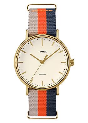 Đồng Hồ Nữ Dây Vải Timex Fairfield TW2P91600