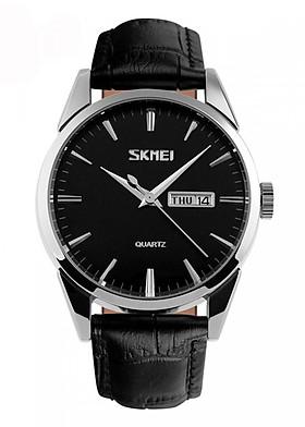 Đồng hồ nam dây da Skmei 9073