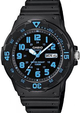 Đồng hồ nam Casio dây nhựa MRW-200H-2BVDF (45mm)