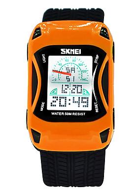 Đồng hồ trẻ em dây nhựa Skmei 09TCK61 hình xe đua thời trang