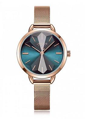 Đồng hồ nữ Julius JA-1128 dây da (nhiều màu)