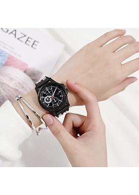 Đồng hồ nam nữ MQ sport kiểu dáng thể thao dây cao su thời trang