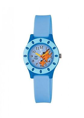 Đồng hồ trẻ em Q&Q Citizen VQ13J005Y dây nhựa thương hiệu Nhật Bản