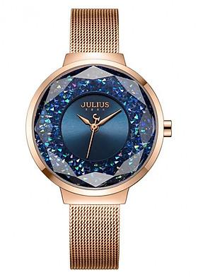 Đồng hồ nữ Julius JA-1111C (Đồng Xanh)