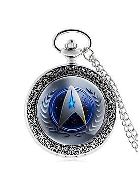 Đồng hồ dây chuyền quả quýt Star Trek Size lớn