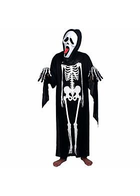 Hình ảnh Bộ đồ hóa trang Xương Ma cosplay halloween 120cm loại dày