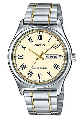 Đồng hồ nam dây kim loại Casio MTP-V006SG-9BUDF