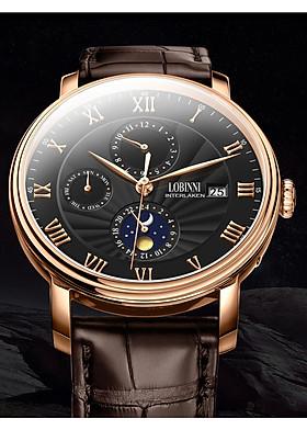 Đồng hồ nam chính hãng Lobinni No.1023-1