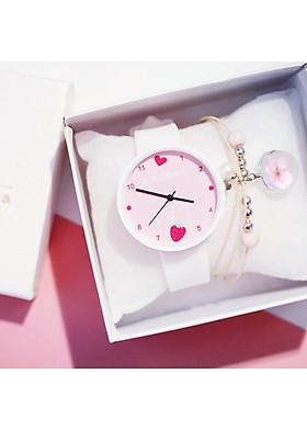 Đồng hồ đeo tay nam nữ unisex hinova thời trang DH35