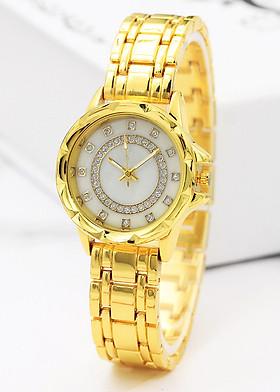Đồng hồ đeo tay thời trang nữ - Dây kim loại