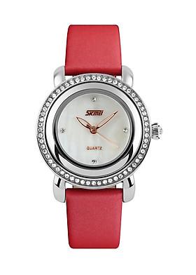 Đồng hồ nữ dây da Skmei 9093L