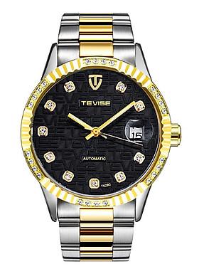 Đồng hồ nam cơ Tevise T629C máy Automatic dây thép đặc - Fullbox chính hãng