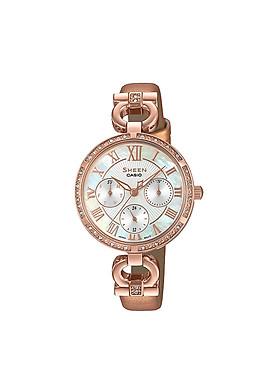 Đồng hồ nữ Casio Sheen chính hãng SHE-3067PGL-7BUDF