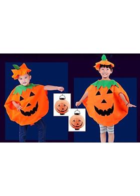 Hình ảnh Bộ đồ hóa trang quả bí ngô cho bé COS-Bí ngô