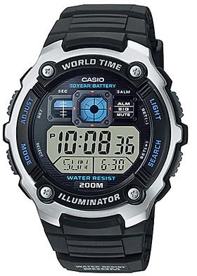 Đồng hồ nam dây nhựa Casio AE-2000W-1AVDF