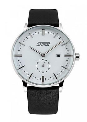 Đồng hồ nam dây da Skmei 9083CL