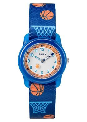 Đồng hồ Trẻ em Timex Kids Analog Elastic Fabric Strap Watch - TW7C16800 (28mm)