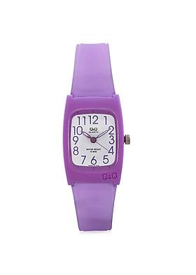 Đồng hồ trẻ em Q&Q VP65J016Y dây nhựa thương hiệu Nhật Bản