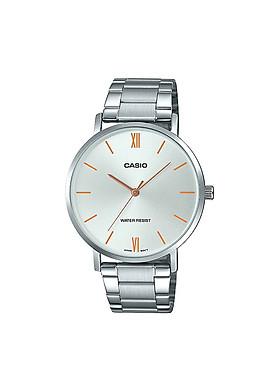 Đồng hồ Casio nam dây thép MTP-VT01D-7BUDF (40mm)