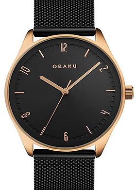 Đồng hồ đeo tay hiệu Obaku V235GXVBMB