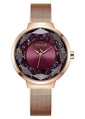 Đồng hồ nữ Julius JA-1111D (Đồng Tím)