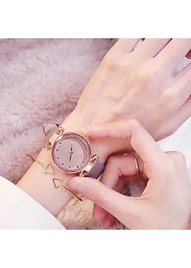 Đồng hồ đeo tay nam nữ unisex bacina thời trang DH25