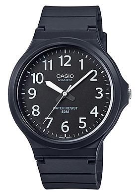 Đồng hồ nam dây nhựa Casio MW-240-1BVDF