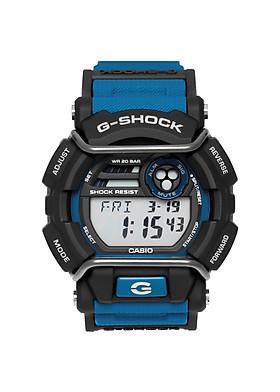 Đồng Hồ Nam Casio G Shock GD-400-2DR Dây Nhựa Màu Xanh - Giờ Thế Giới - Chống Nước 200m