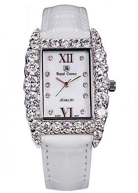 Đồng hồ nữ chính hãng Royal Crown 6111ST trắng