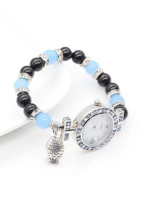 Đồng Hồ Nữ Mix Mã Não Xanh DHN32 Bảo Ngọc Jewelry