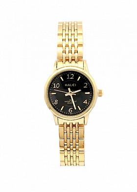 Đồng hồ Nữ Halei cao cấp - HL484 Dây vàng