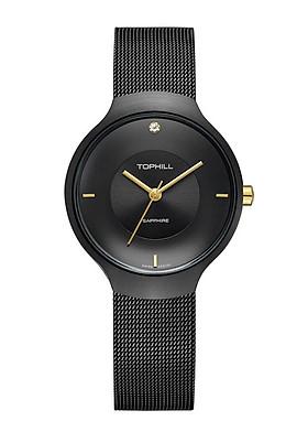 Đồng hồ nữ dây lưới Thụy Sĩ TOPHILL TS002L.S5182